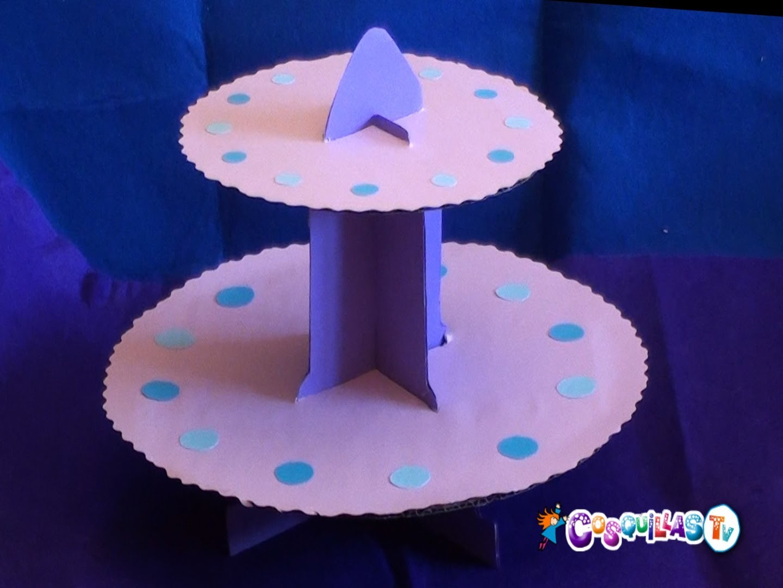 DIY Manualidades : Expositor de Cupcakes