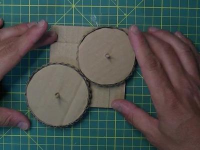Engranajes de cartón