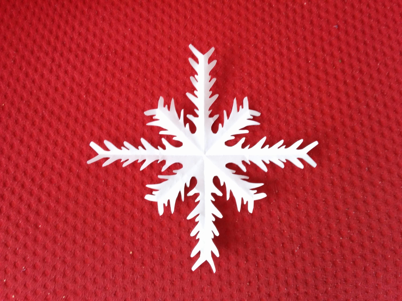 Estrella copo de nieve,DIY, Adorno de navidad, christmas ornaments.