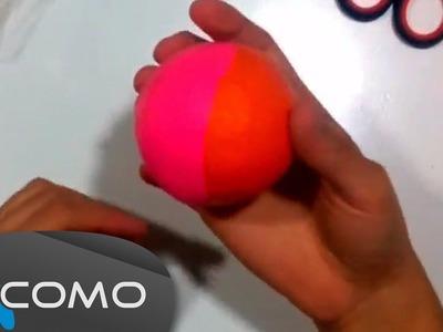 Fabricar pelotas de malabares con globos