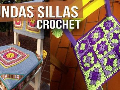 Fundas Para Sillas - Tejidas a Crochet ( Diseños )