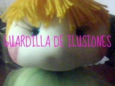 GUARDILLA DE ILUSIONES muñecos soft y manualidades