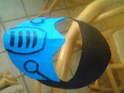 Mascara de Sub-zero de papel