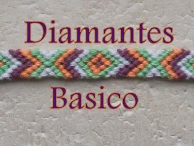 Pulsera de Hilo: Diamantes Basico es.PandaHall.com