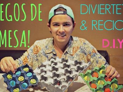 #28 JUEGOS DE MESA RECICLADOS | D.I.Y. ♥