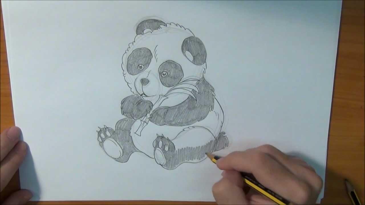 Aprende a dibujar un Oso Panda