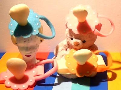 Como hacer Chupete de goma espuma