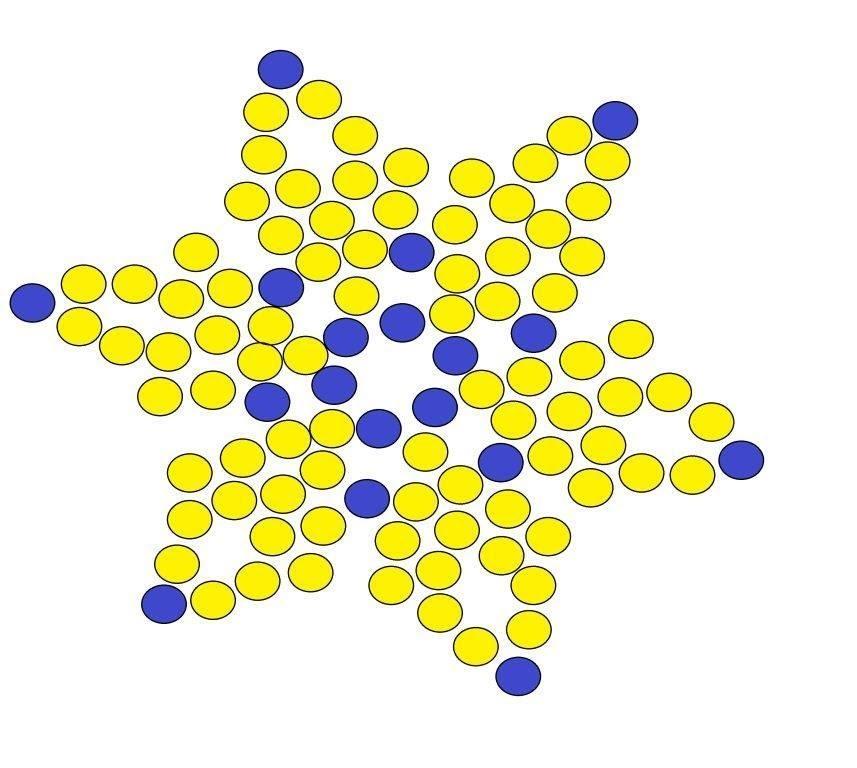 Como hacer estrellas de aretes en mostacilla