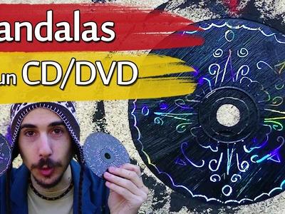 Cómo hacer Mandalas con un CD.DVD