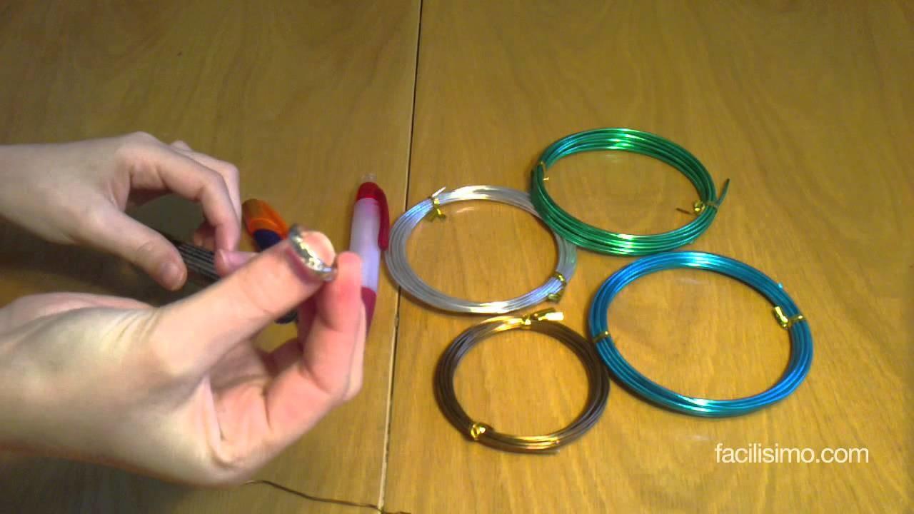 Cómo hacer un anillo de alambre a medida | facilisimo.com