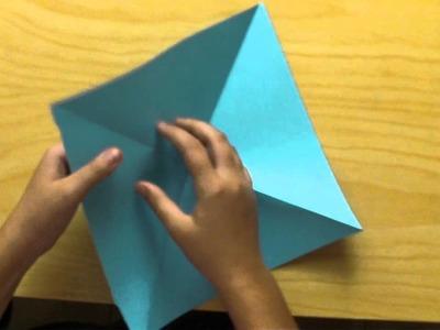 Como hacer un caja-estrella de papel
