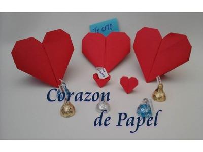 Como hacer un corazón de papel. Regalo San Valentín