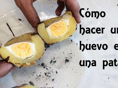 Cómo hacer un huevo en una patata - ESPECIAL Día en el campo