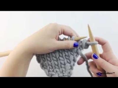 Cómo tejer aumentos (parte I) - Aprender a tejer