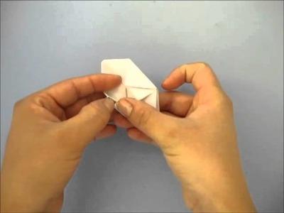 Conejo inflable [origami] rabbit