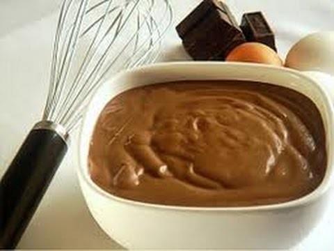 CREMA PASTELERA DE CHOCOLATE PARA RELLENO- Silvana Cocina y Manualidades