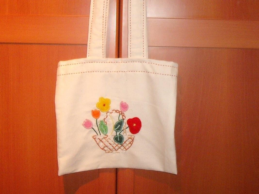 Curso de bordado básico 24: Hacer una bolsa de tela