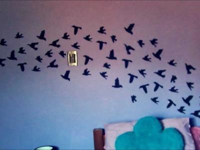 Decora tu habitación con aves! (Inspirado en Tumblr) (MUY FÁCIL!)