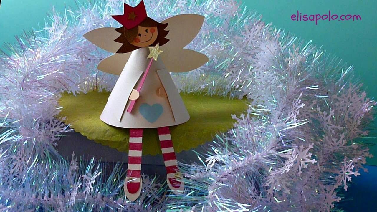 DIY, Cómo hacer un Hada, Christmas Fairy, Hada de la Navidad
