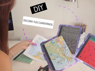 DIY: Decora tus cuadernos | Vuelta a clases