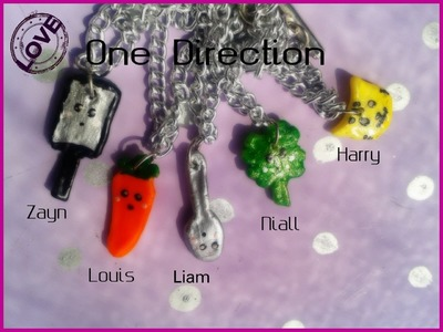DIY : One Direction charms !! :D