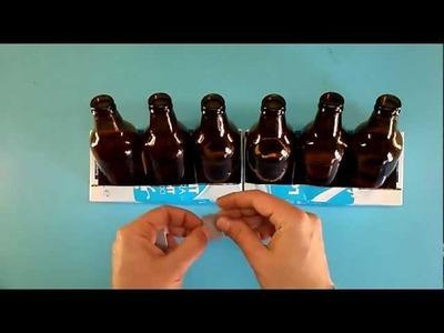 Manualidad de reciclaje: Xilófono casero hecho con botellas