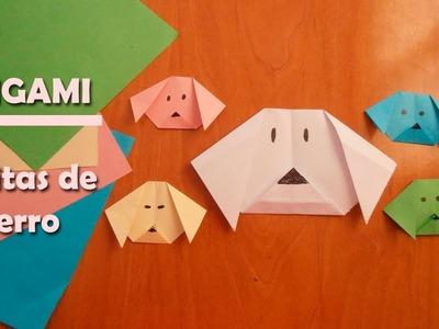 #Origami - Carita de perro