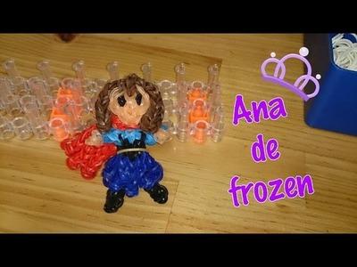 Princesa Anna de frozen con telar