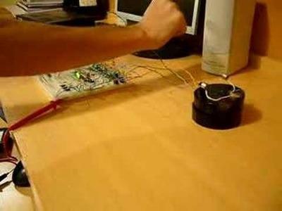 Robot que sigue el sonido