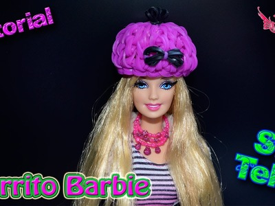 ♥ Tutorial: Gorrito para Barbie de gomitas (sin telar) ♥