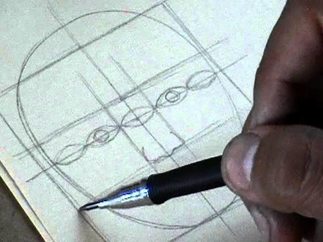 Cánones y proporciones del Rostro Humano para DIBUJO ARTÍSTICO