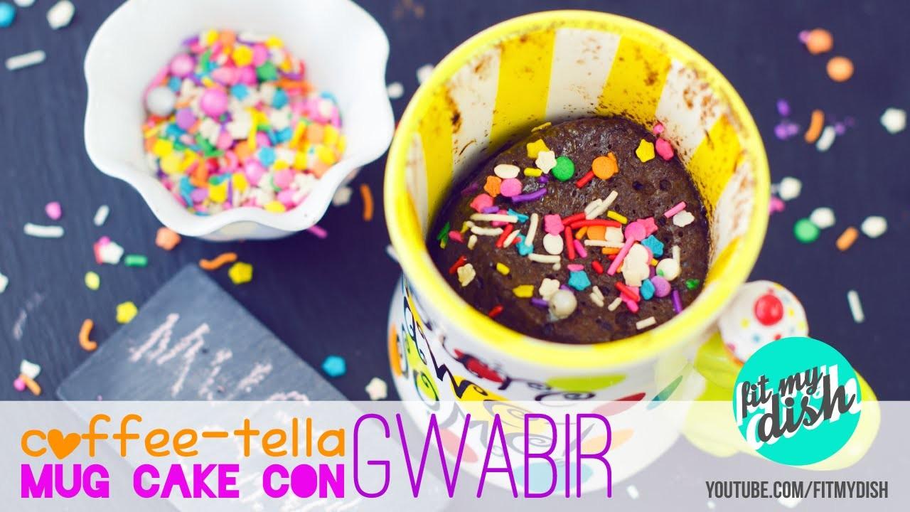 Coffee-Tella Mug Cake con Gwabir