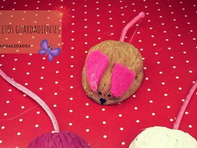 Como hacer ratoncitos guarda dientes fácil  y rápido