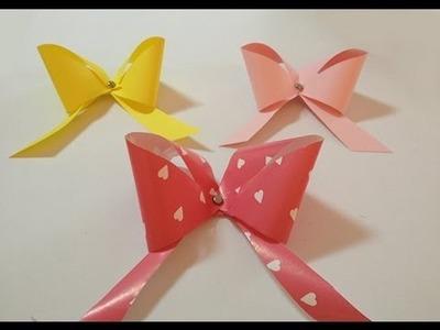 Cómo hacer un lazo de papel para envolver regalos de forma original.