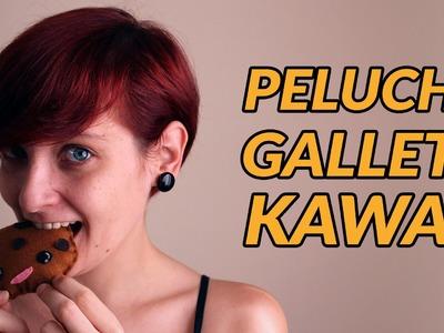 Cómo hacer un mini peluche galleta kawaii | Manualidades con fieltro