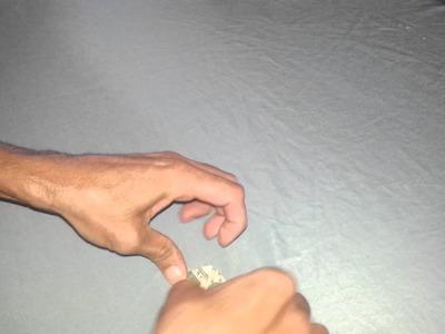 Como hacer una estrella con un billete