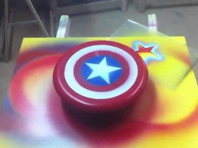 Crear escudos de superhéroe