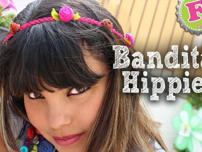DIY: Bandita de Flores Hippie. Flowers Hippie Band