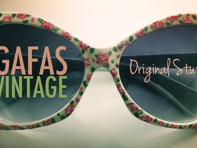 Gafas [Estilo Vintage] - Original Stuff