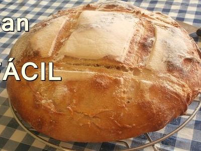 HOGAZA DE PAN CASERO - Recetas de Cocina Faciles Rapidas y Economicas de hacer