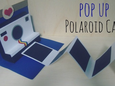 Manualidades para Regalar: Pop-Up Polaroid Card❤