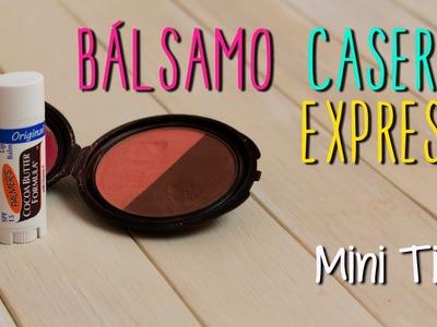 Mini Tip#48 - Bálsamo Casero Express - Tinta de Labios en 5 minutos