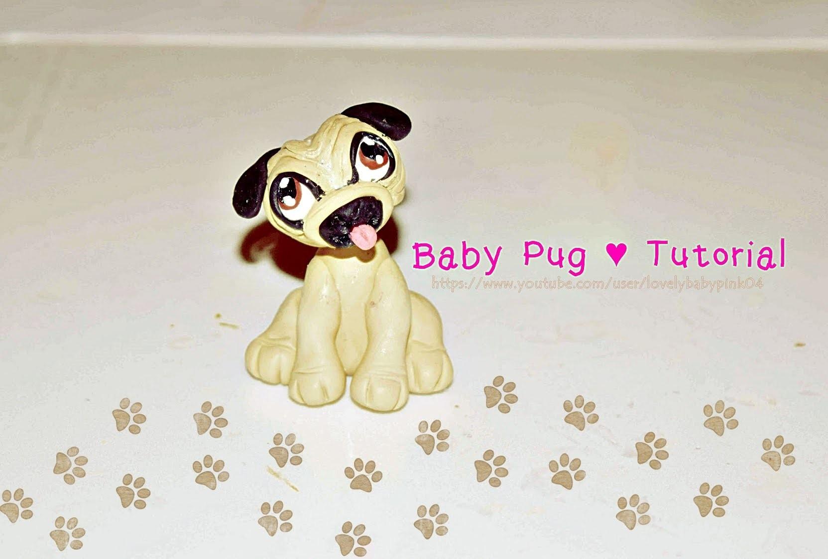 Perrito Baby Porcelana Fria - Pets Cold porcelain