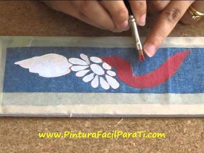 Pintar Manteles 2 - Pintura Facil Para Ti.wmv