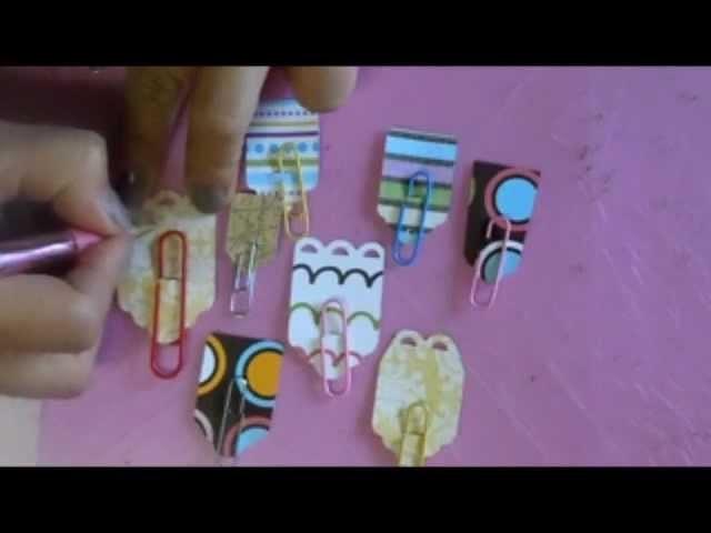 Tutorial: Separadores o Clips de papel