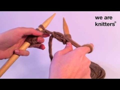 Aprender a tejer: ¿Cómo tejer punto de arroz?