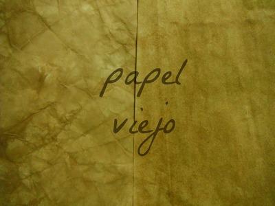Carta o papel viejo + tip ♥-tutorial