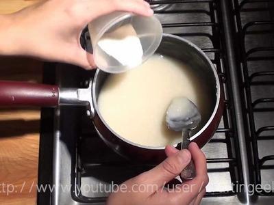Como hacer Engrudo - Pasta de Harina [FACIL]