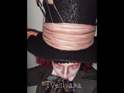 Como hacer sombrero (The mad hatter)