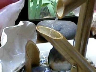 Fuente de agua con bambu 1